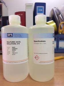 Dung dịch chuẩn Acid Sulfuric 6N